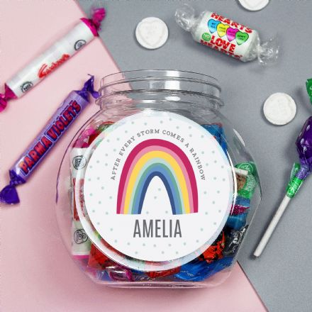 Rainbow Sweet Jar & Sweets